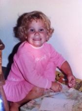 Me, at my third birthday.